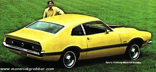 1971 Ford Maverick Grabber. 1972 Maverick Grabber 1